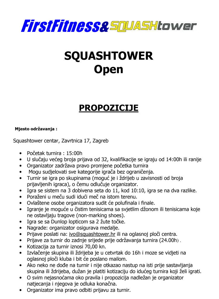 Microsoft Word - Squashtower Open