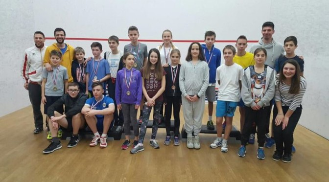 1. Squashtower Junior Open 2016/2017.